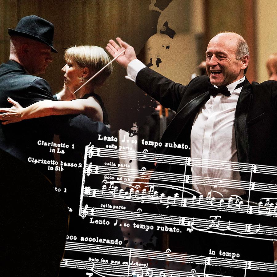 A Fesztiválzenekar két tagja eljárt egy tüzes tangót, aztán lecsapott Stravinsky